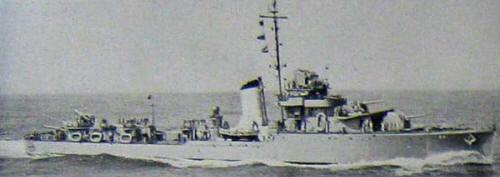 Brazilian destroyer Araguaya